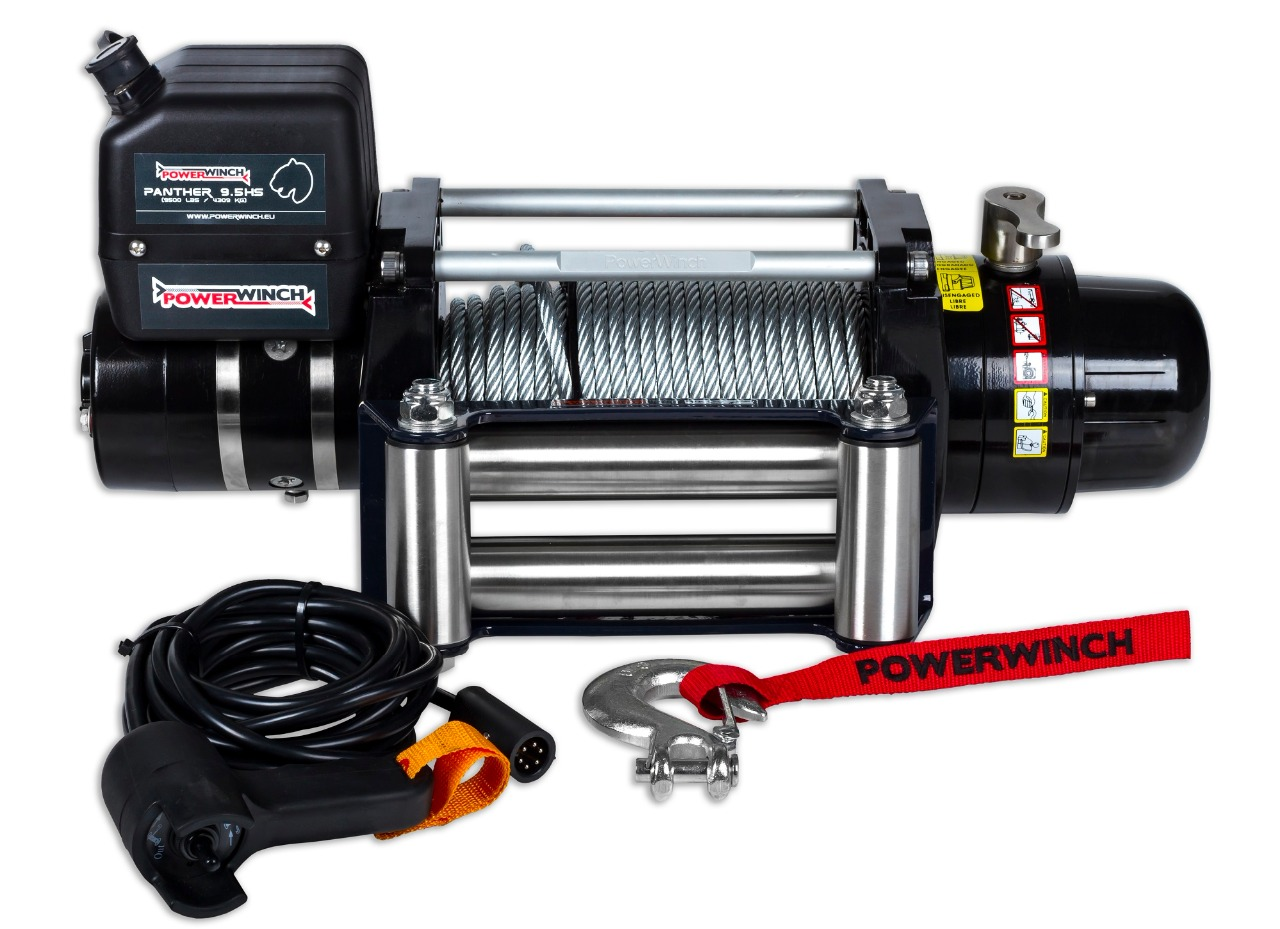 POWERWINCH PANTHER 9.5 (EXTRA SNABB)